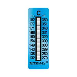 Irreversible Nivel Thermax cintas de temperatura