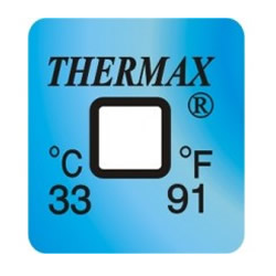 cintas de medición de temperatura Thermax